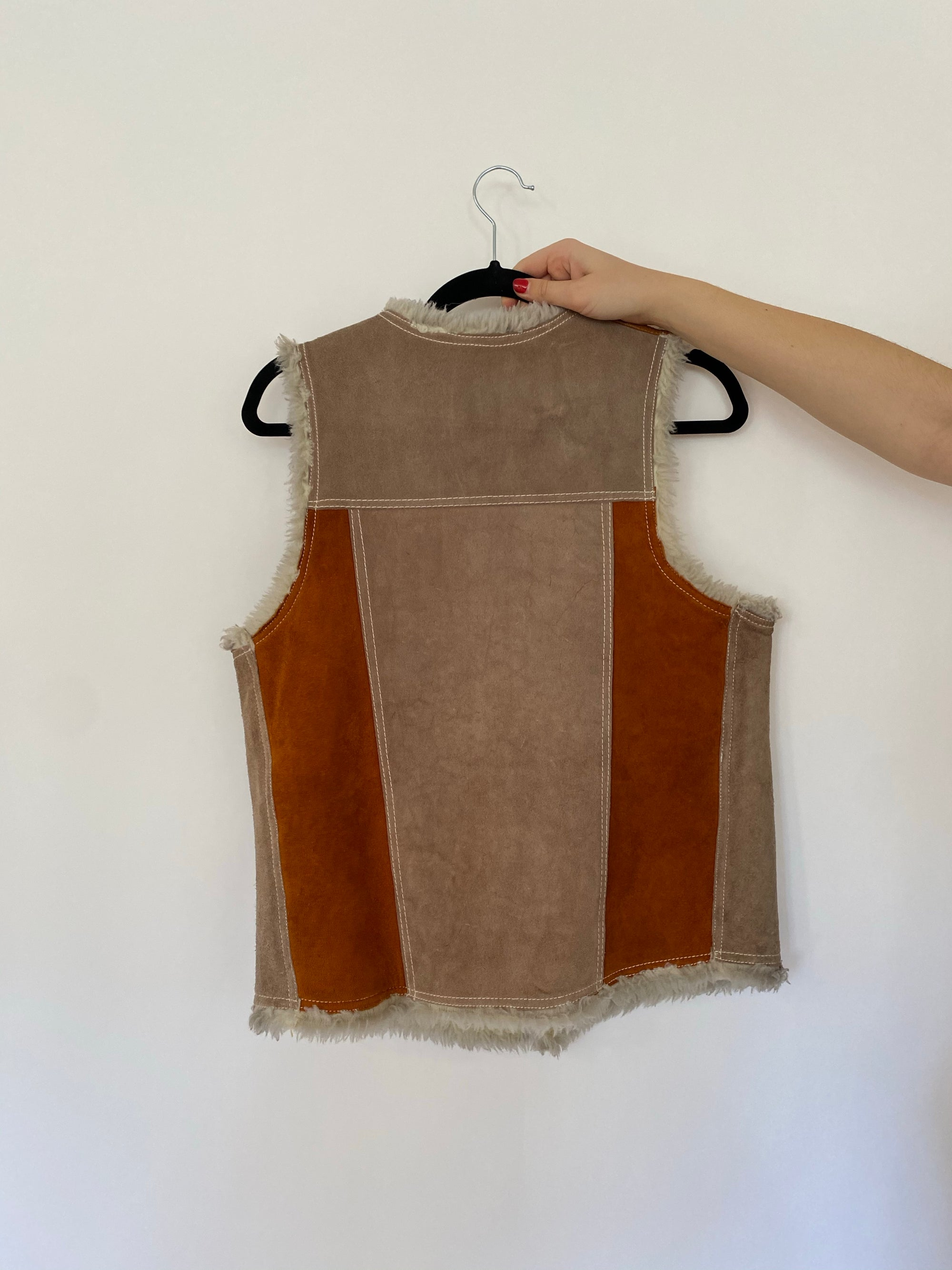 Western Genuine Leather Vest