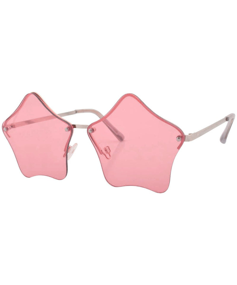 LUMINOUS Silver/Pink Glasses