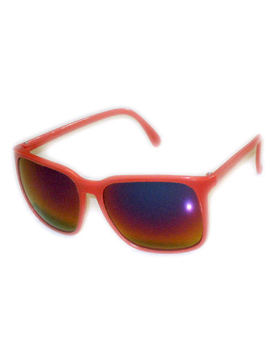 naylight red sunglasses
