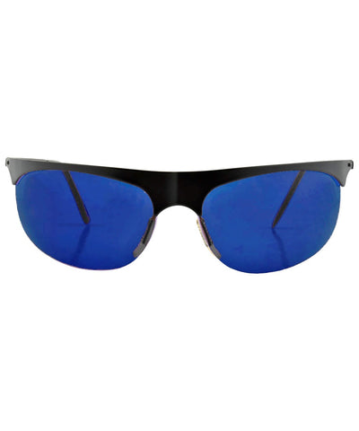 RADDINGTON Blue Fashion-Forward Sport Sunglasses