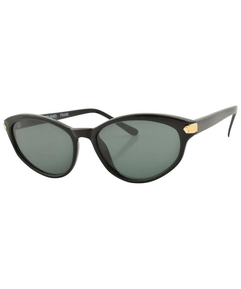 Roux Black Sunglasses