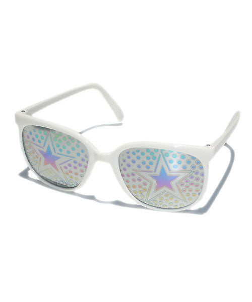 stardot white sunglasses