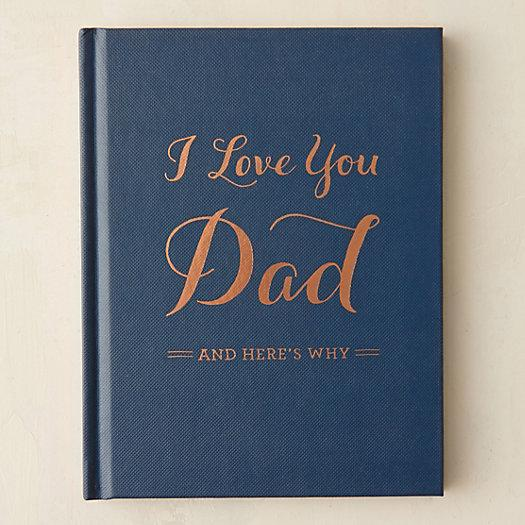 I Love You Dad Book