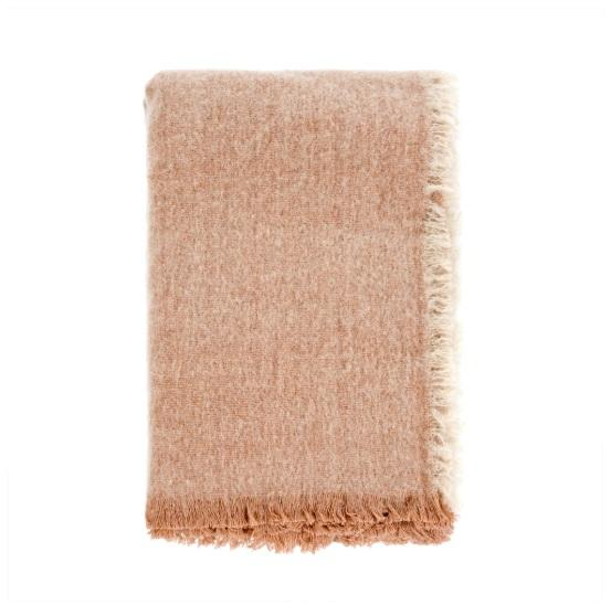 Wool Peach Blanket