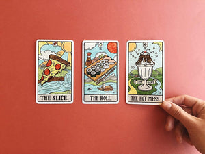 Food Fortune Tarot Cards