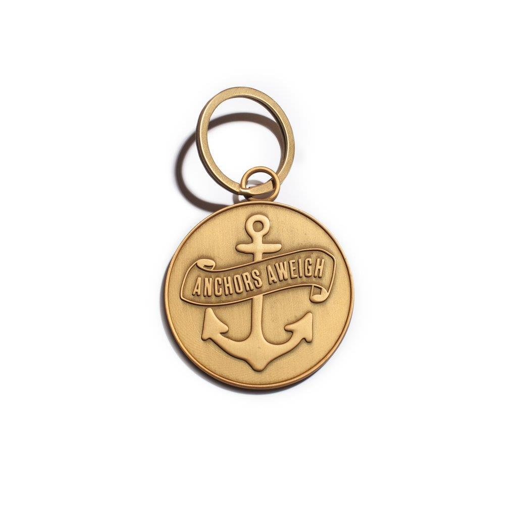 Brass Plated Keychains