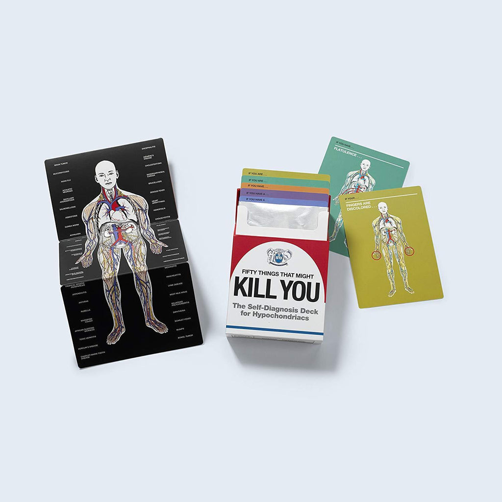 50 Things That Might Kill You Card Deck