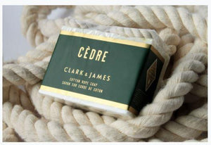 Cedre Soap on a Rope