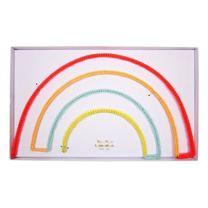 Rainbow Felt Wire Wall Decor