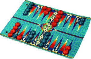 Pendleton Backgammon Travel-Ready Roll Up Game