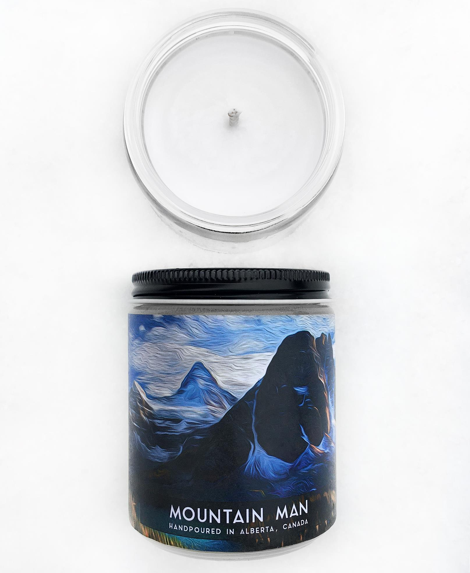 Mountain Man Candle
