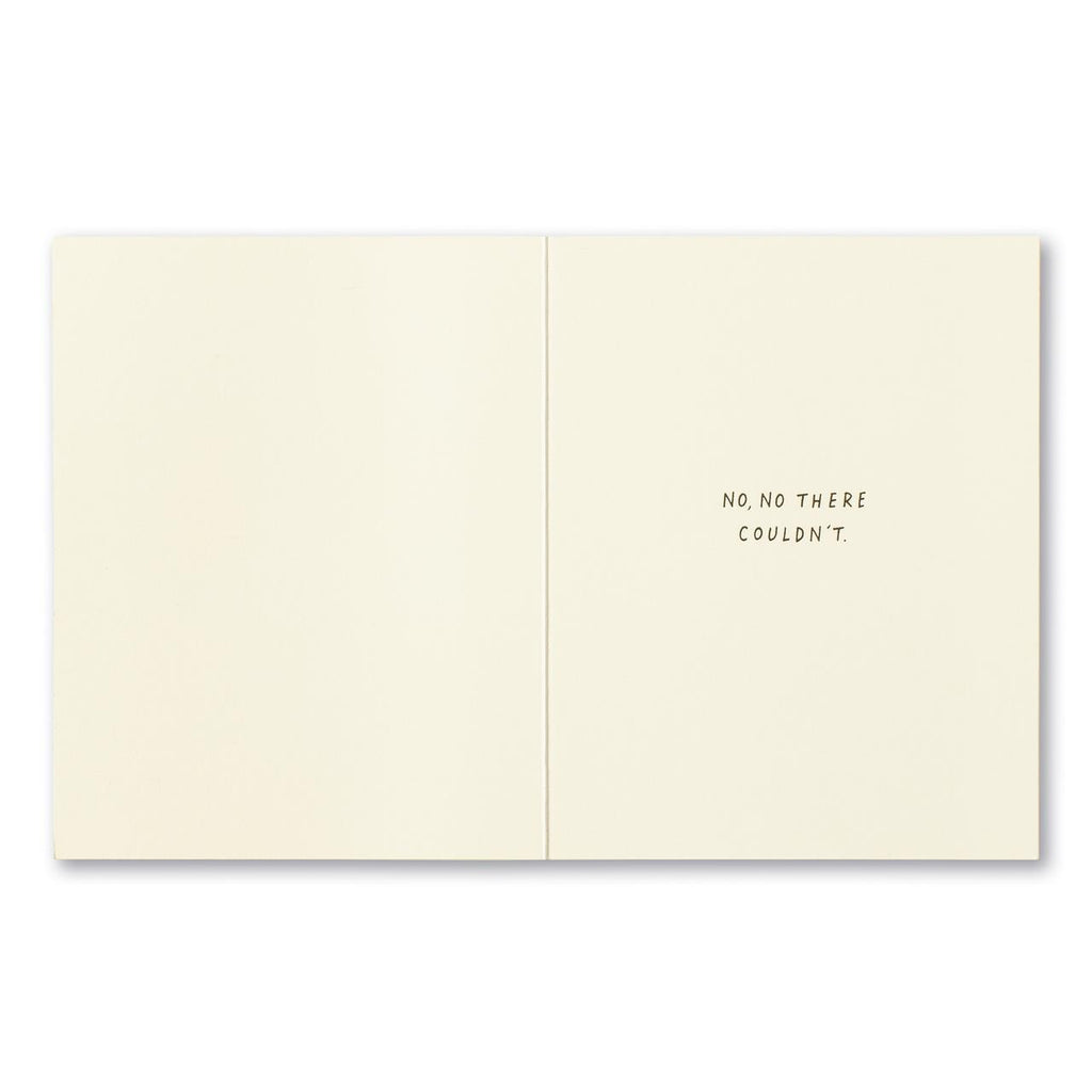 A More Thoughtful Person? - Thank You Card