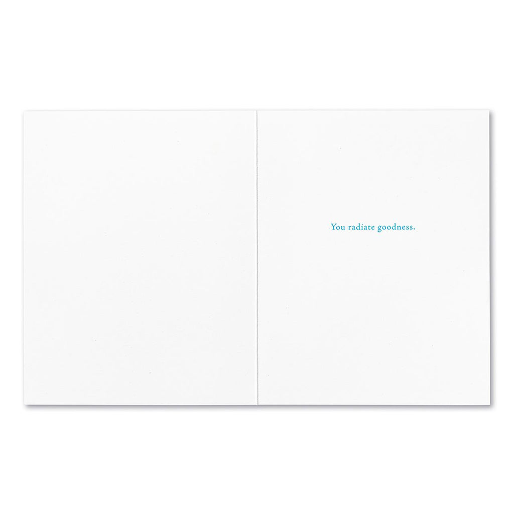 Kind thoughts, kind words Card