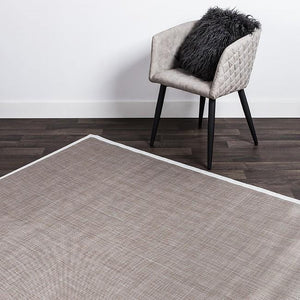 Rio Metallic Vinyl Mat - Indoor/Outdoor