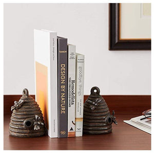 Beehive Bookends