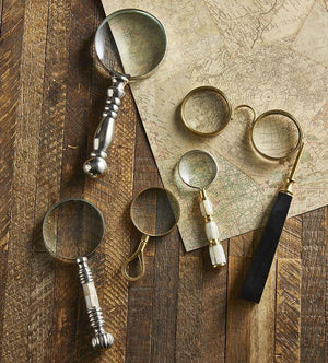 Vintage-Inspired Magnifying Glasses