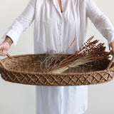 Seagrass Large Oval Basket
