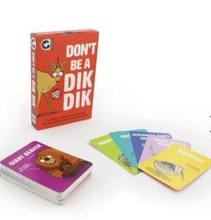 Don't Be A Dik Dik - Game
