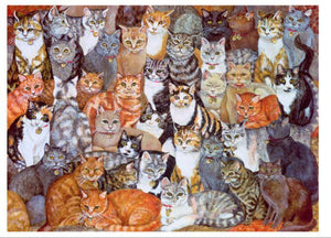 In the Company of Cats Notecards - Set of 20