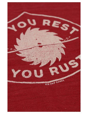 If you Rest you Rust Shop Rag