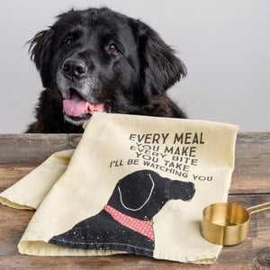 Every Bite You Take Tea Towel
