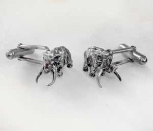 Wolly Mammoth Cufflinks