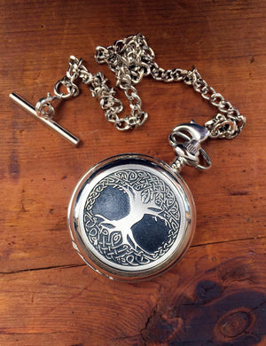 Tree Of Life Pocket Watch