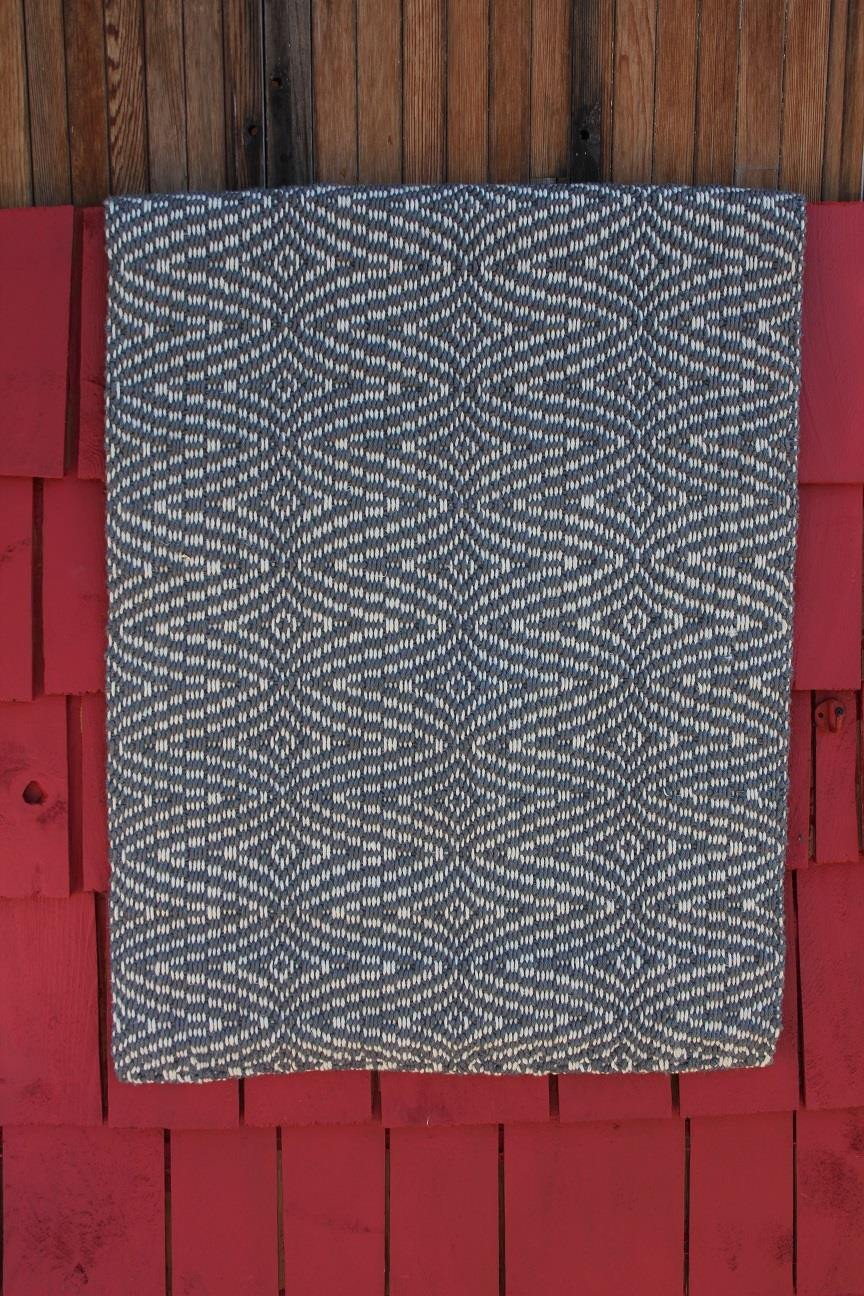 Runner - 2x7 Jute - Diamond Weave