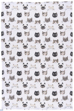 Cats Meow Dish Towel
