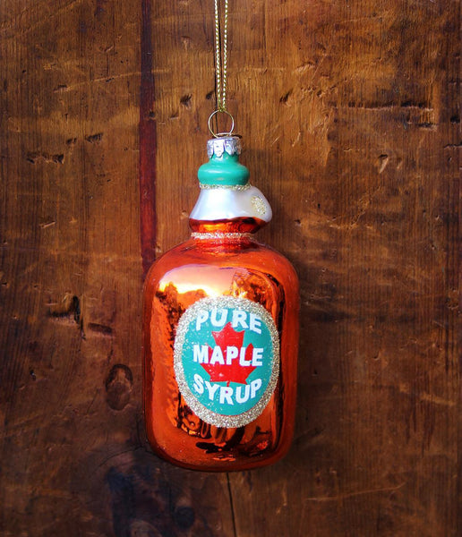 Maple Syrup Bottle Ornament