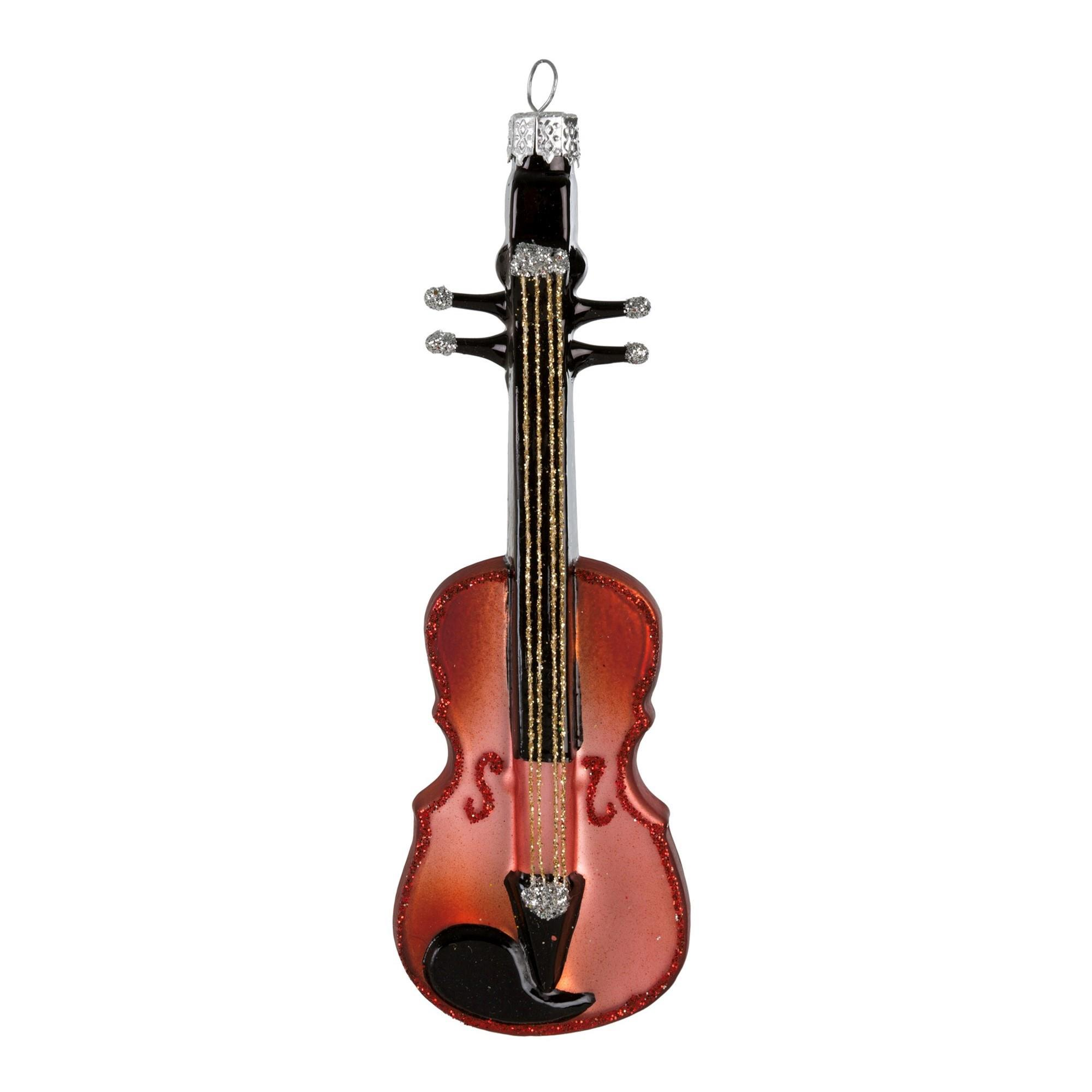 Guilded Violin Ornament