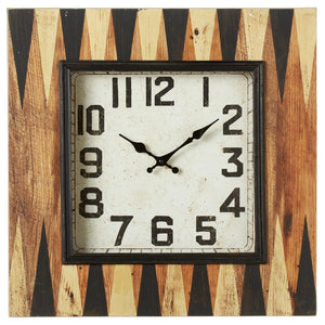Backgammon Wall Clock