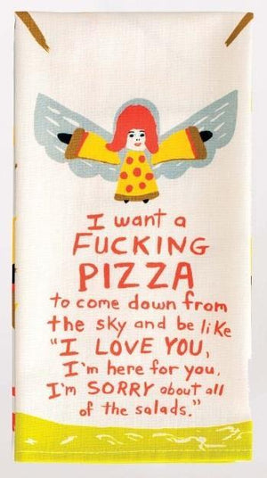 Pizza - Dish Towel