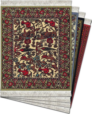 International Coaster Rugs - Set of 4
