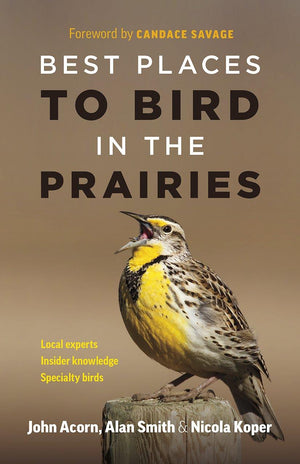 Best Places to Bird in the Prairies Book