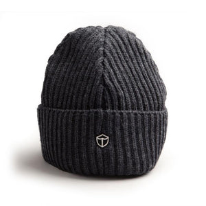 Wool Toque - Charcoal