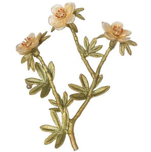 Tundra Rose Brooch