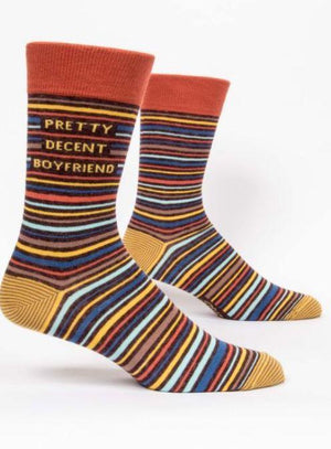 Pretty Decent Boyfriend Socks