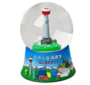 Calgary Tower Snow Globe