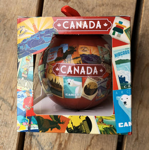 Canada Postcards Ornament