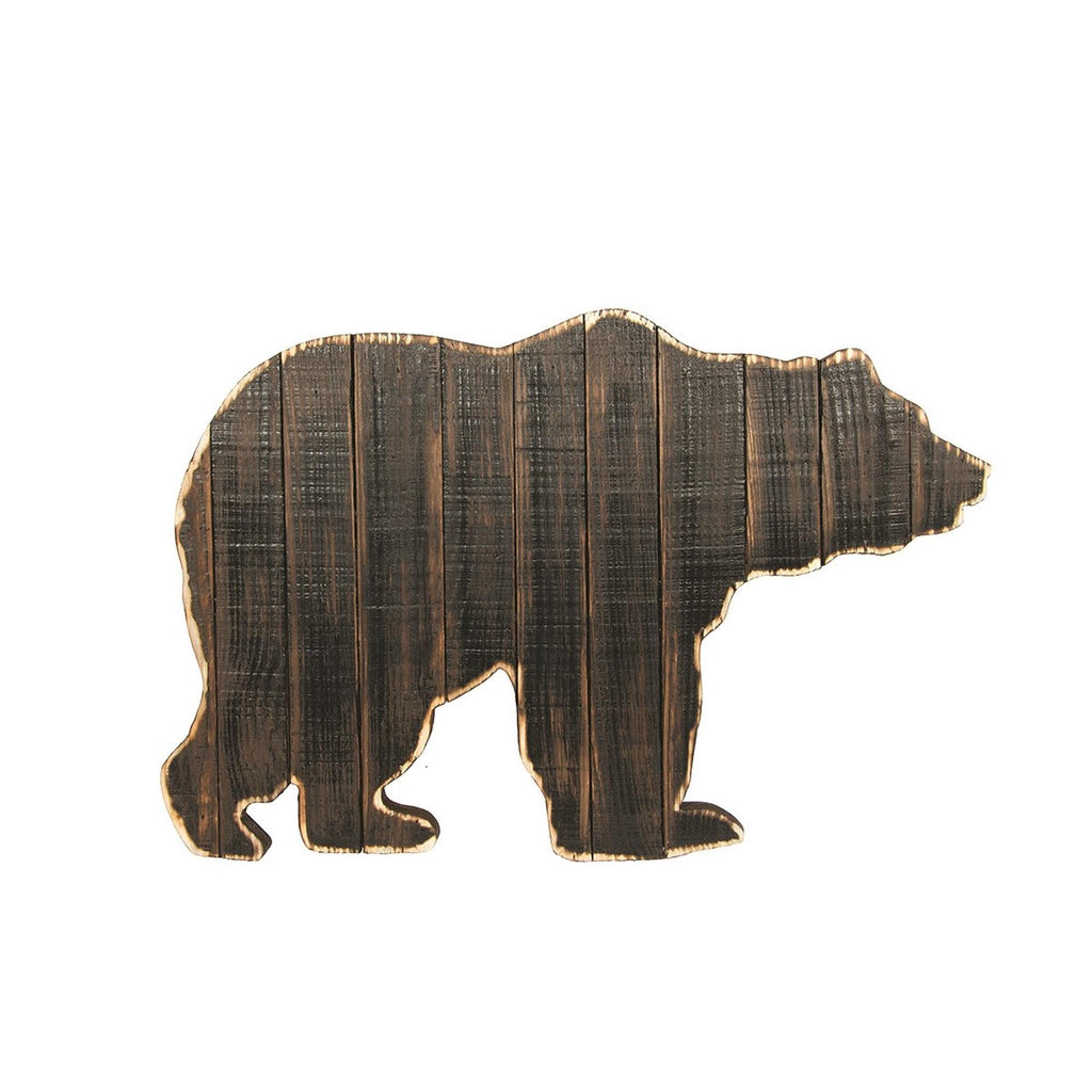 Rustic Bear Wall Decor