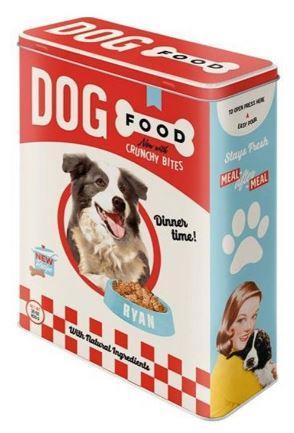 Dog Food Tin Retro Style