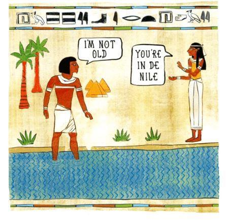 In De Nile - Birthday Card
