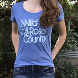 Wild Rose Country Alberta Women's Shirt