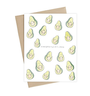 Avocado Pregnancy Card