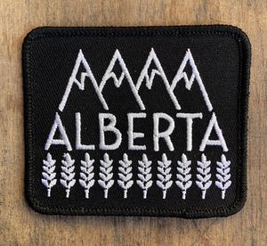 Alberta Iron On Patch
