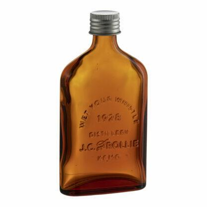 Amber Glass Flask