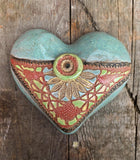Handmade Ceramic Heart - Medium