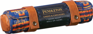 Pendleton Chess & Checkers Travel-Ready Roll Up Game