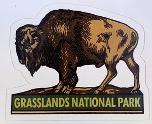 Grasslands National Park Sticker